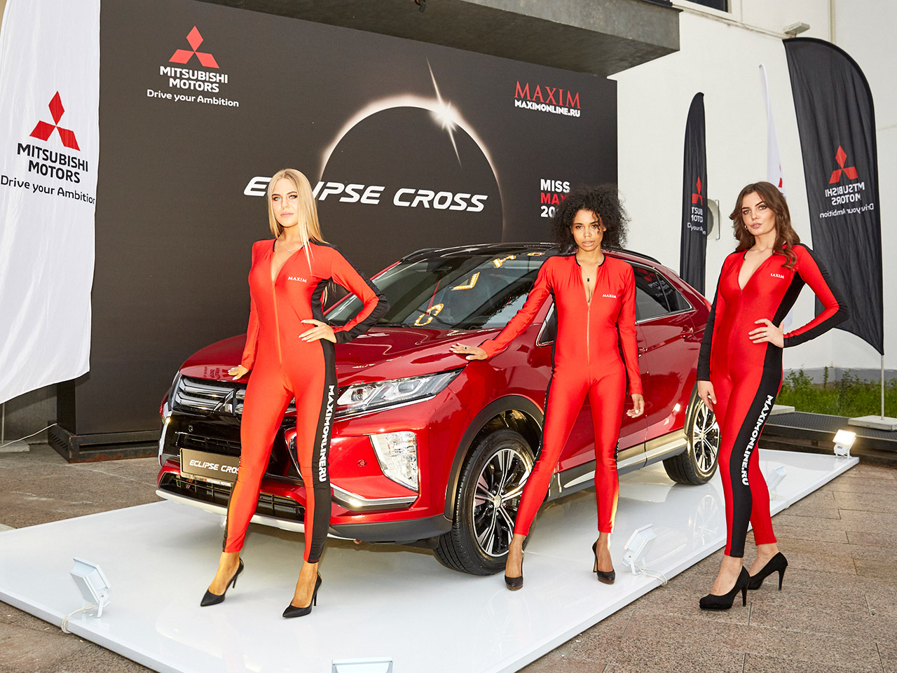 Eclipse Cross на финале конкурса Miss MAXIM 2018